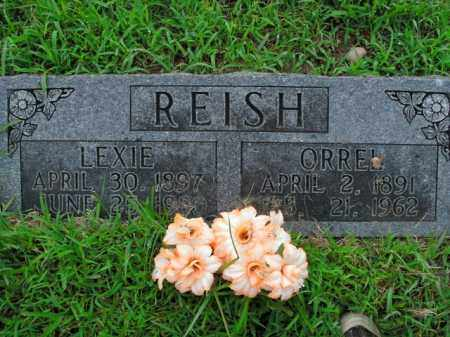 REISH, LEXIE - Boone County, Arkansas | LEXIE REISH - Arkansas Gravestone Photos