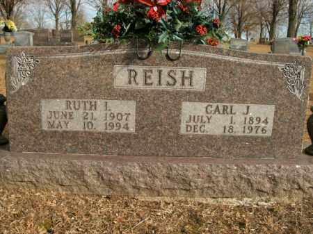 REISH, CARL J. - Boone County, Arkansas   CARL J. REISH - Arkansas Gravestone Photos