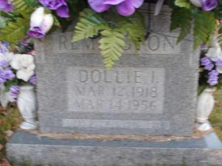 REMINGTON, DOLLIE I. - Boone County, Arkansas | DOLLIE I. REMINGTON - Arkansas Gravestone Photos