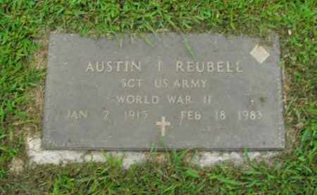 REUBELL  (VETERAN WWII), AUSTIN I - Boone County, Arkansas | AUSTIN I REUBELL  (VETERAN WWII) - Arkansas Gravestone Photos