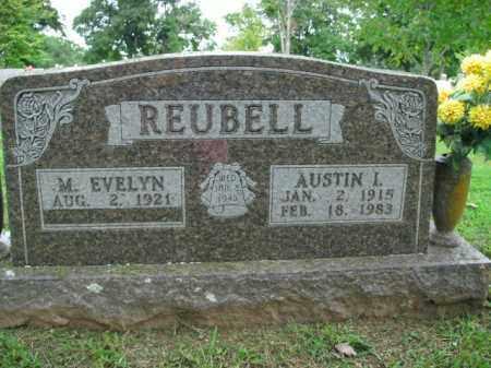 REUBELL, AUSTIN I. - Boone County, Arkansas | AUSTIN I. REUBELL - Arkansas Gravestone Photos