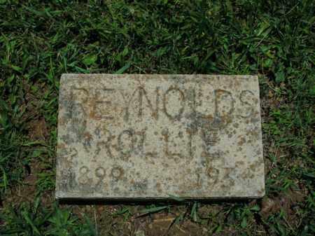 REYNOLDS, ROLLIE - Boone County, Arkansas | ROLLIE REYNOLDS - Arkansas Gravestone Photos