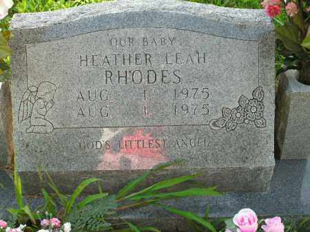 RHODES, HEATHER LEAH - Boone County, Arkansas | HEATHER LEAH RHODES - Arkansas Gravestone Photos