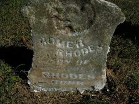 RHODES, HOMER - Boone County, Arkansas | HOMER RHODES - Arkansas Gravestone Photos