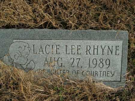 RHYNE, LACIE LEE - Boone County, Arkansas | LACIE LEE RHYNE - Arkansas Gravestone Photos