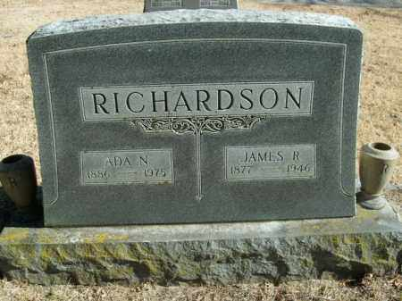 RICHARDSON, ADA N. - Boone County, Arkansas | ADA N. RICHARDSON - Arkansas Gravestone Photos