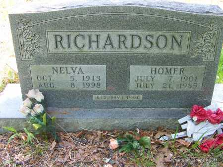 RICHARDSON, GEORGE HOMER - Boone County, Arkansas | GEORGE HOMER RICHARDSON - Arkansas Gravestone Photos