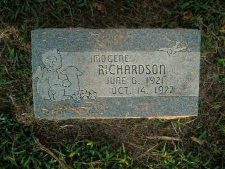 RICHARDSON, IMOGENE - Boone County, Arkansas | IMOGENE RICHARDSON - Arkansas Gravestone Photos
