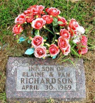 RICHARDSON, INFANT SON - Boone County, Arkansas | INFANT SON RICHARDSON - Arkansas Gravestone Photos