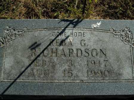 RICHARDSON, REBA G. - Boone County, Arkansas | REBA G. RICHARDSON - Arkansas Gravestone Photos