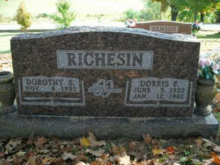 RICHESIN, DORRIS F. - Boone County, Arkansas | DORRIS F. RICHESIN - Arkansas Gravestone Photos
