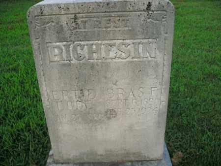 RICHESIN, ERTIE - Boone County, Arkansas | ERTIE RICHESIN - Arkansas Gravestone Photos