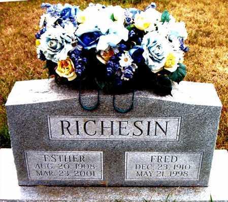 RICHESIN, FRED - Boone County, Arkansas   FRED RICHESIN - Arkansas Gravestone Photos