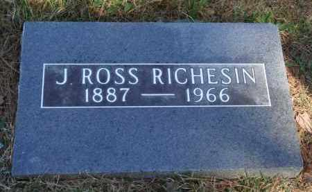 RICHESIN, J. ROSS - Boone County, Arkansas | J. ROSS RICHESIN - Arkansas Gravestone Photos