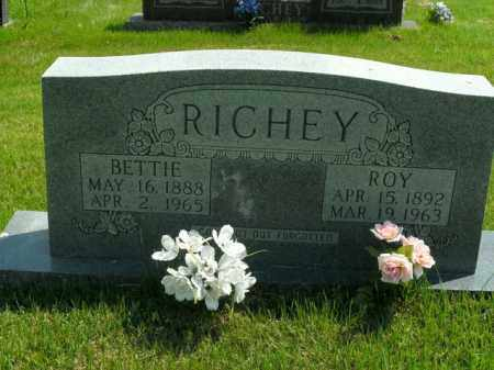 RICHEY, BETTIE - Boone County, Arkansas | BETTIE RICHEY - Arkansas Gravestone Photos
