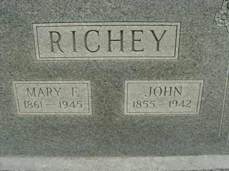 RICHEY, JOHN - Boone County, Arkansas | JOHN RICHEY - Arkansas Gravestone Photos