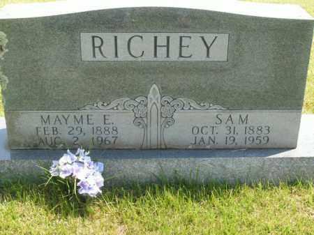 RICHEY, SAM - Boone County, Arkansas | SAM RICHEY - Arkansas Gravestone Photos