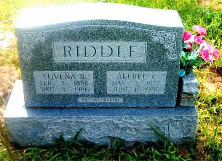 ROBERTS RIDDLE, LUVENA B. - Boone County, Arkansas | LUVENA B. ROBERTS RIDDLE - Arkansas Gravestone Photos