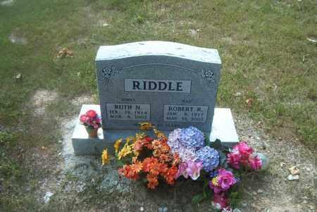 RIDDLE, RUTH  M. - Boone County, Arkansas | RUTH  M. RIDDLE - Arkansas Gravestone Photos