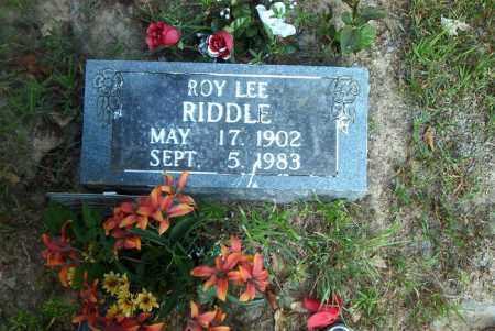 RIDDLE, ROY LEE - Boone County, Arkansas | ROY LEE RIDDLE - Arkansas Gravestone Photos