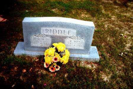 RIDDLE, MARGARET SUSAN - Boone County, Arkansas   MARGARET SUSAN RIDDLE - Arkansas Gravestone Photos