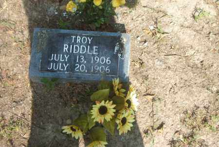 RIDDLE, TROY - Boone County, Arkansas   TROY RIDDLE - Arkansas Gravestone Photos