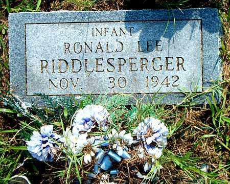 RIDDLESPERGER, RONALD LEE - Boone County, Arkansas | RONALD LEE RIDDLESPERGER - Arkansas Gravestone Photos