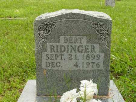 RIDINGER, BERT - Boone County, Arkansas | BERT RIDINGER - Arkansas Gravestone Photos