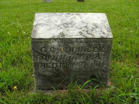 RIDINGER, G.C. - Boone County, Arkansas   G.C. RIDINGER - Arkansas Gravestone Photos