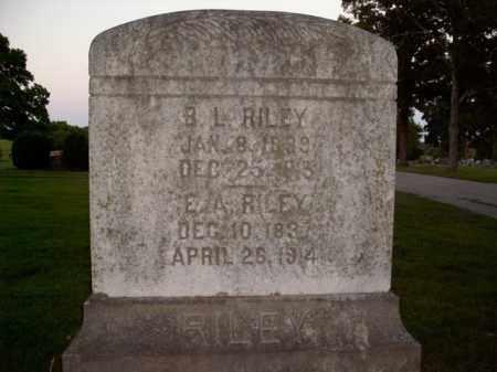 RILEY, B.L. - Boone County, Arkansas | B.L. RILEY - Arkansas Gravestone Photos