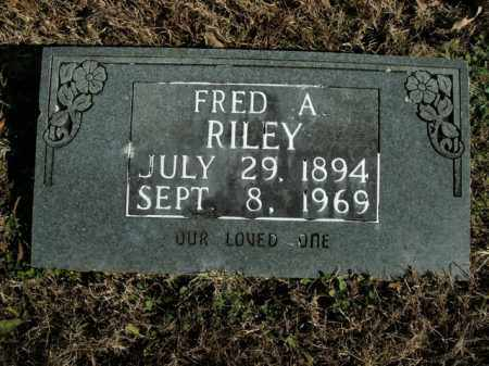 RILEY, FRED A. - Boone County, Arkansas | FRED A. RILEY - Arkansas Gravestone Photos