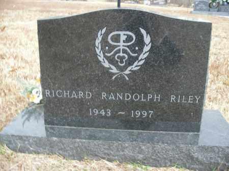 RILEY, RICHARD RANDOLPH - Boone County, Arkansas | RICHARD RANDOLPH RILEY - Arkansas Gravestone Photos