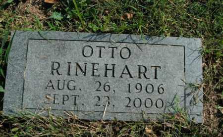 RINEHART, OTTO - Boone County, Arkansas | OTTO RINEHART - Arkansas Gravestone Photos
