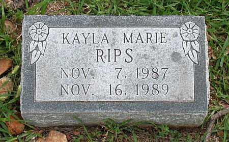 RIPS, KAYLA MARIE - Boone County, Arkansas   KAYLA MARIE RIPS - Arkansas Gravestone Photos