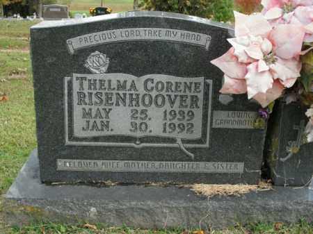 RISENHOOVER, THELMA CORENE - Boone County, Arkansas | THELMA CORENE RISENHOOVER - Arkansas Gravestone Photos