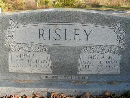 RISLEY, VIRGIL E. - Boone County, Arkansas | VIRGIL E. RISLEY - Arkansas Gravestone Photos