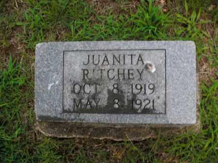 RITCHEY, JUANITA - Boone County, Arkansas | JUANITA RITCHEY - Arkansas Gravestone Photos
