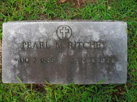 RITCHEY, PEARL M. - Boone County, Arkansas | PEARL M. RITCHEY - Arkansas Gravestone Photos