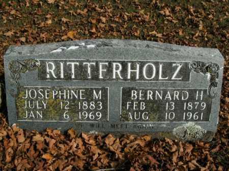 RITTERHOLZ, BERNARD H. - Boone County, Arkansas | BERNARD H. RITTERHOLZ - Arkansas Gravestone Photos