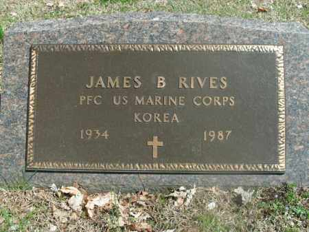 RIVES  (VETERAN KOR), JAMES B - Boone County, Arkansas | JAMES B RIVES  (VETERAN KOR) - Arkansas Gravestone Photos
