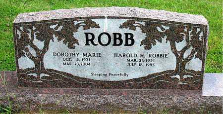 ROBB, HAROLD H - Boone County, Arkansas | HAROLD H ROBB - Arkansas Gravestone Photos