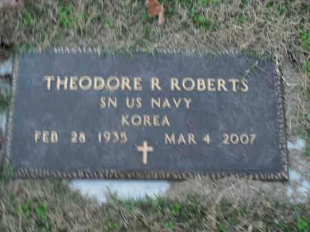 ROBERTS  (VETERAN KOR), THEODORE R - Boone County, Arkansas   THEODORE R ROBERTS  (VETERAN KOR) - Arkansas Gravestone Photos