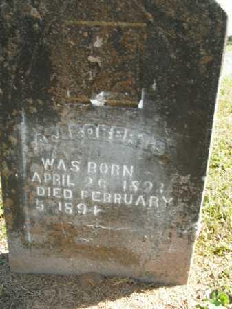 ROBERTS, A.J. - Boone County, Arkansas | A.J. ROBERTS - Arkansas Gravestone Photos