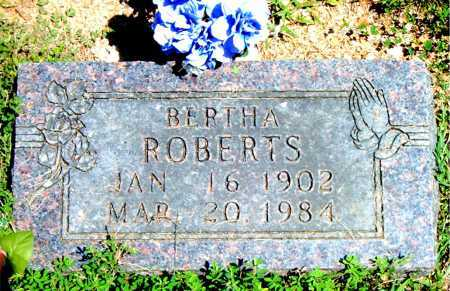 ROBERTS, BERTHA - Boone County, Arkansas | BERTHA ROBERTS - Arkansas Gravestone Photos