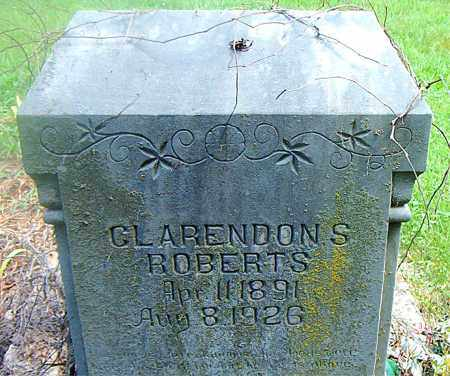 ROBERTS, CLARENDON S. - Boone County, Arkansas | CLARENDON S. ROBERTS - Arkansas Gravestone Photos