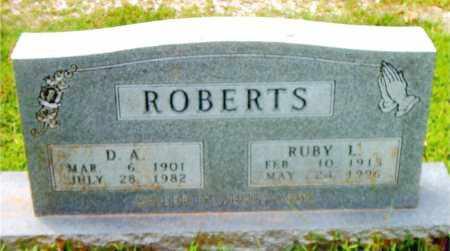 ROBERTS, RUBY L. - Boone County, Arkansas | RUBY L. ROBERTS - Arkansas Gravestone Photos