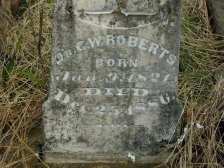 ROBERTS, G.W. - Boone County, Arkansas | G.W. ROBERTS - Arkansas Gravestone Photos