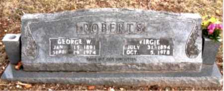 ROBERTS, GEORGE W. - Boone County, Arkansas | GEORGE W. ROBERTS - Arkansas Gravestone Photos