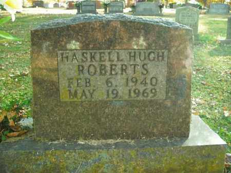 ROBERTS, HASKELL HUGH - Boone County, Arkansas | HASKELL HUGH ROBERTS - Arkansas Gravestone Photos
