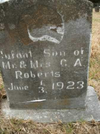 ROBERTS, INFANT SON - Boone County, Arkansas | INFANT SON ROBERTS - Arkansas Gravestone Photos